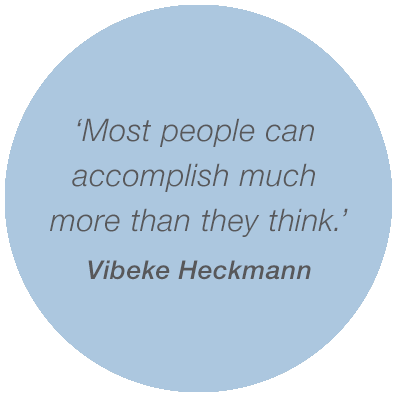Most people can accomplish much more than they think
