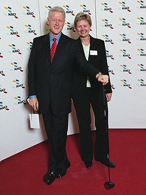 Clinton i København